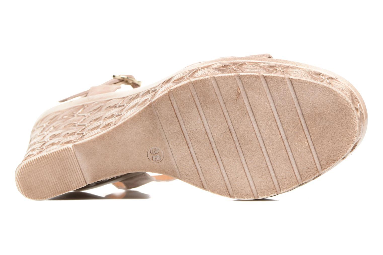 Sandales et nu-pieds Tamaris Kiwai Beige vue haut
