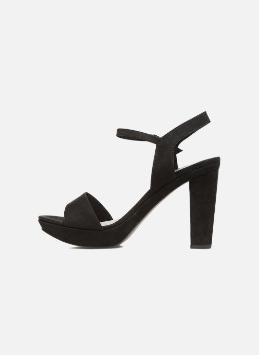 Sandales et nu-pieds Tamaris Hysope Noir vue face
