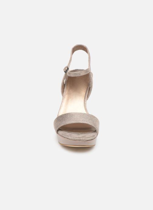 Sandales et nu-pieds Tamaris Hysope Rose vue portées chaussures