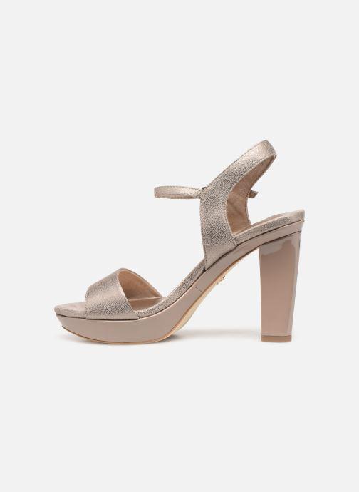 Sandales et nu-pieds Tamaris Hysope Rose vue face