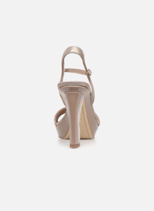 Sandales et nu-pieds Tamaris Hysope Rose vue droite