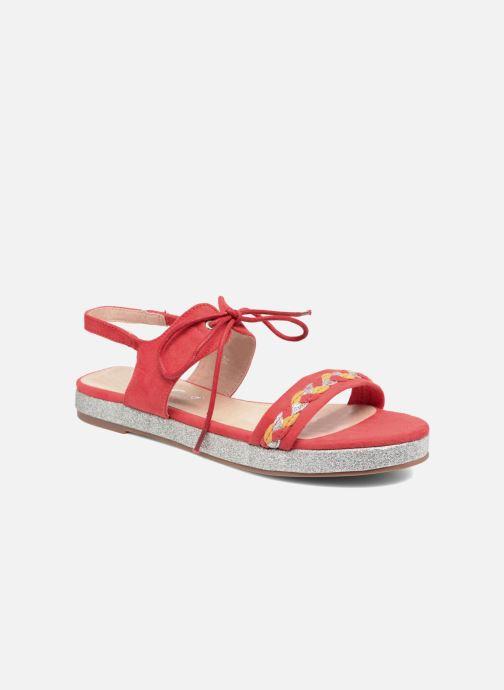 Sandales et nu-pieds Divine Factory Oko Orange vue détail/paire