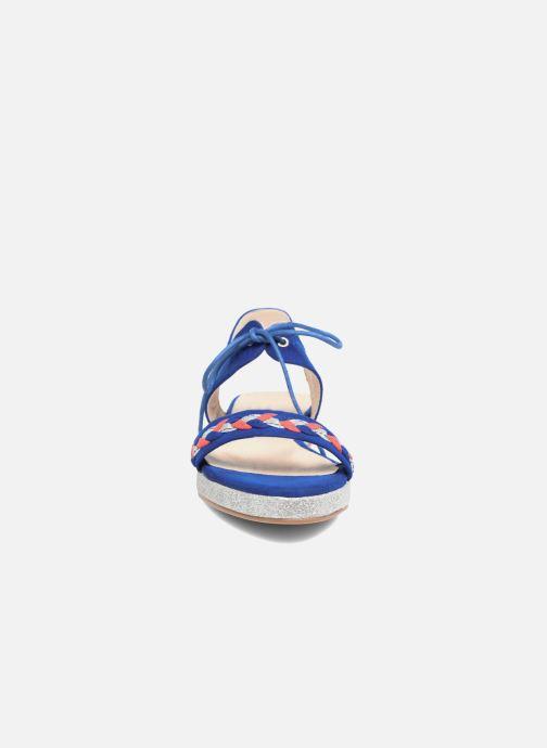 Sandalen Divine Factory Oko blau schuhe getragen