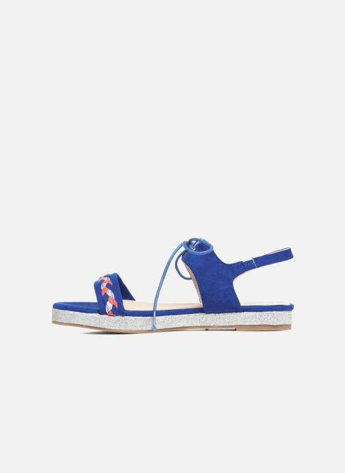 Sandalen Divine Factory Oko blau ansicht von vorne