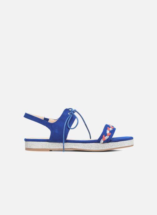 Sandalen Divine Factory Oko blau ansicht von hinten