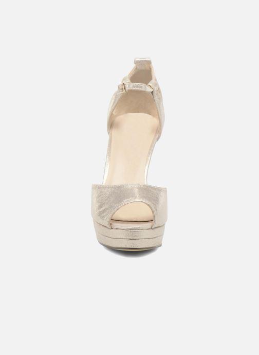 Escarpins Menbur ACEBO Or et bronze vue portées chaussures