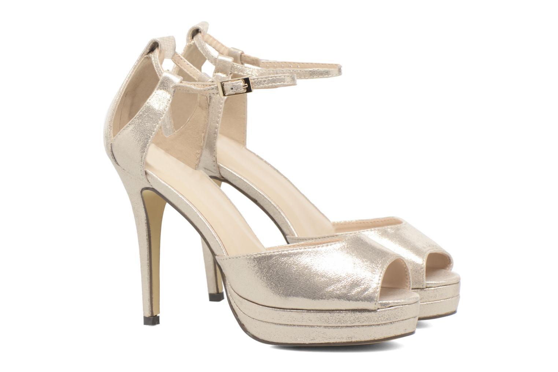 Zapatos de tacón Menbur ACEBO Oro y bronce vista 3/4