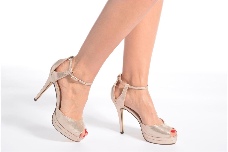 Zapatos de tacón Menbur ACEBO Oro y bronce vista de abajo