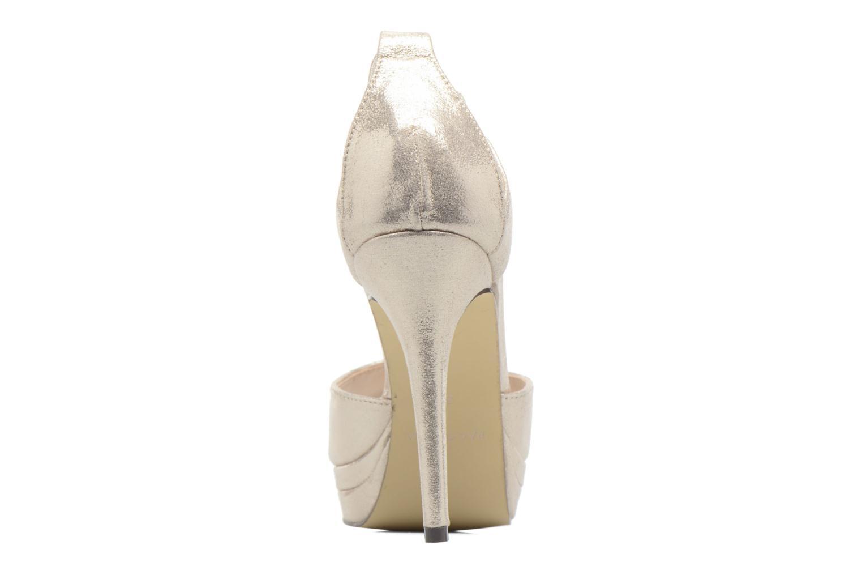 Zapatos de tacón Menbur ACEBO Oro y bronce vista lateral derecha
