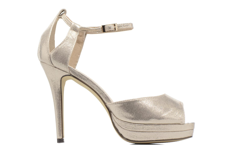 Zapatos de tacón Menbur ACEBO Oro y bronce vistra trasera