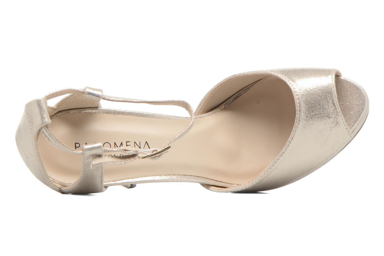 Zapatos de tacón Menbur ACEBO Oro y bronce vista lateral izquierda