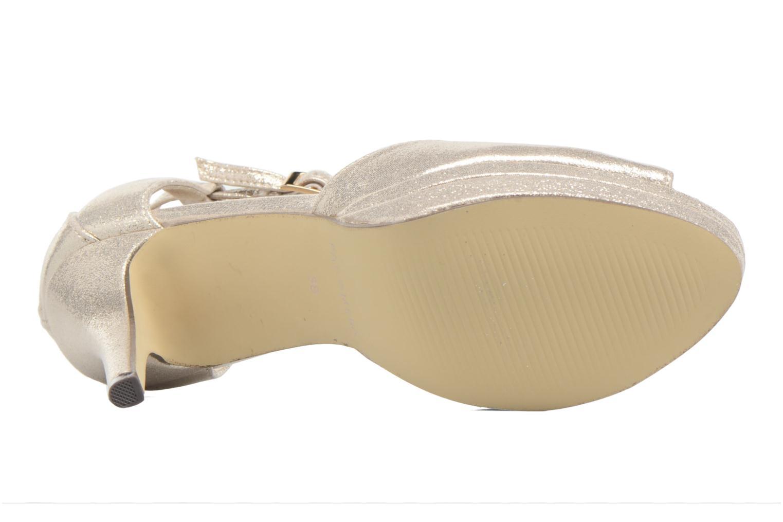 Zapatos de tacón Menbur ACEBO Oro y bronce vista de arriba