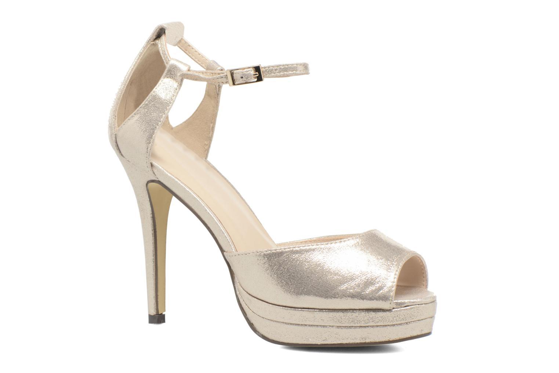 Zapatos de tacón Menbur ACEBO Oro y bronce vista de detalle / par
