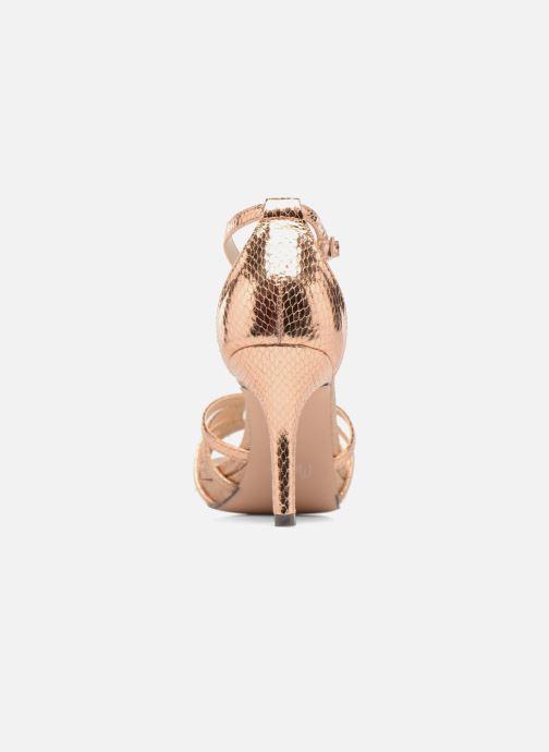 Sandales et nu-pieds Menbur TIFLIS Or et bronze vue droite
