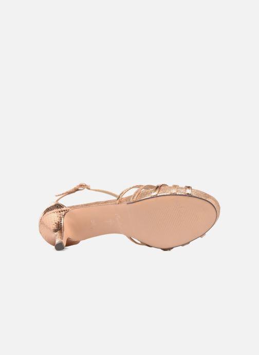 Sandales et nu-pieds Menbur TIFLIS Or et bronze vue haut