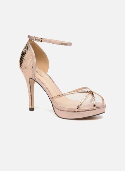 Sandales et nu-pieds Menbur TIFLIS 2 Or et bronze vue détail/paire