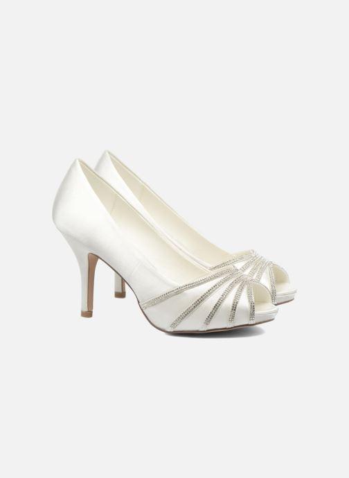 Zapatos de tacón Menbur JULIETA Blanco vista 3/4