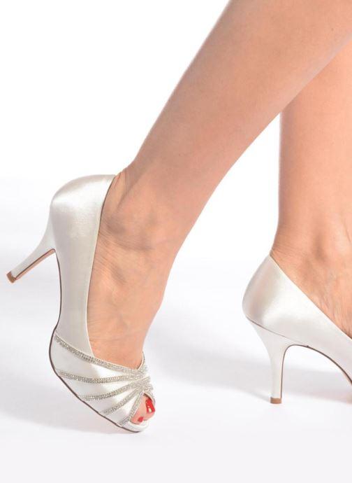 Zapatos de tacón Menbur JULIETA Blanco vista de abajo