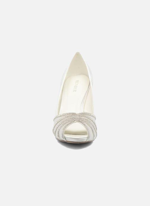 Escarpins Menbur JULIETA Blanc vue portées chaussures