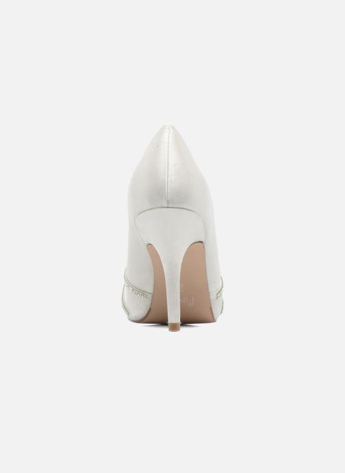 Zapatos de tacón Menbur JULIETA Blanco vista lateral derecha