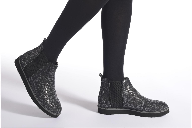 Bottines et boots Ippon Vintage Sylver Light Gris vue bas / vue portée sac