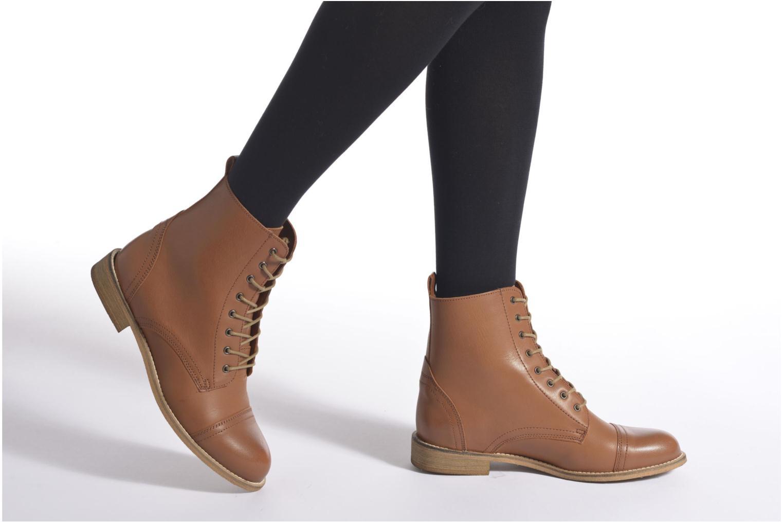 Bottines et boots Ippon Vintage Denim Road Marron vue bas / vue portée sac