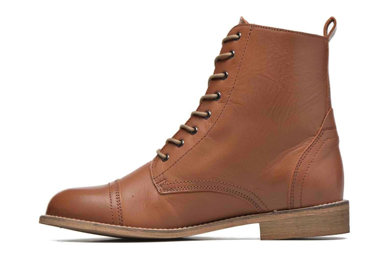 Bottines et boots Ippon Vintage Denim Road Marron vue face