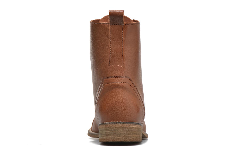 Bottines et boots Ippon Vintage Denim Road Marron vue droite