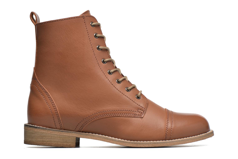 Bottines et boots Ippon Vintage Denim Road Marron vue derrière