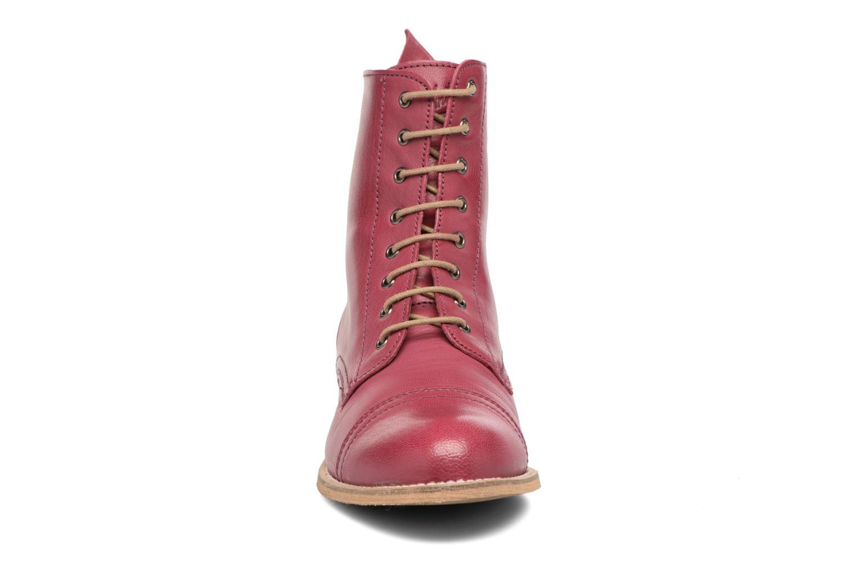 Stiefeletten & Boots Ippon Vintage Denim Road weinrot schuhe getragen
