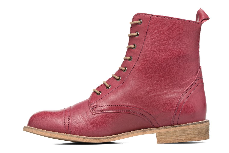 Stiefeletten & Boots Ippon Vintage Denim Road weinrot ansicht von vorne