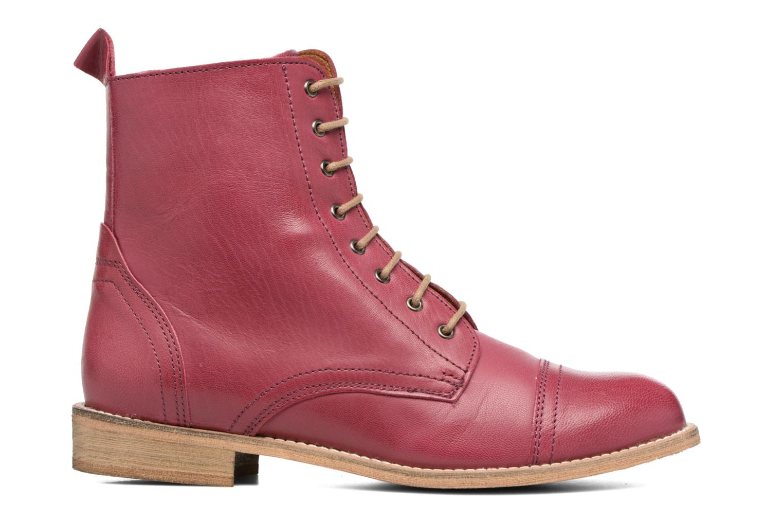 Stiefeletten & Boots Ippon Vintage Denim Road weinrot ansicht von hinten