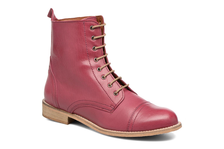 Stiefeletten & Boots Ippon Vintage Denim Road weinrot detaillierte ansicht/modell
