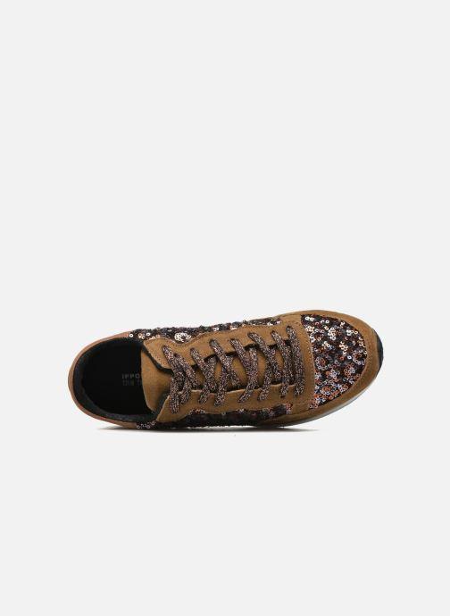Sneakers Ippon Vintage Run Luxury Marrone immagine sinistra