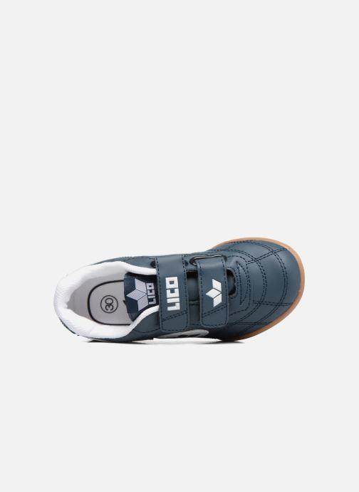 Sneaker LICO Bernie V blau ansicht von links
