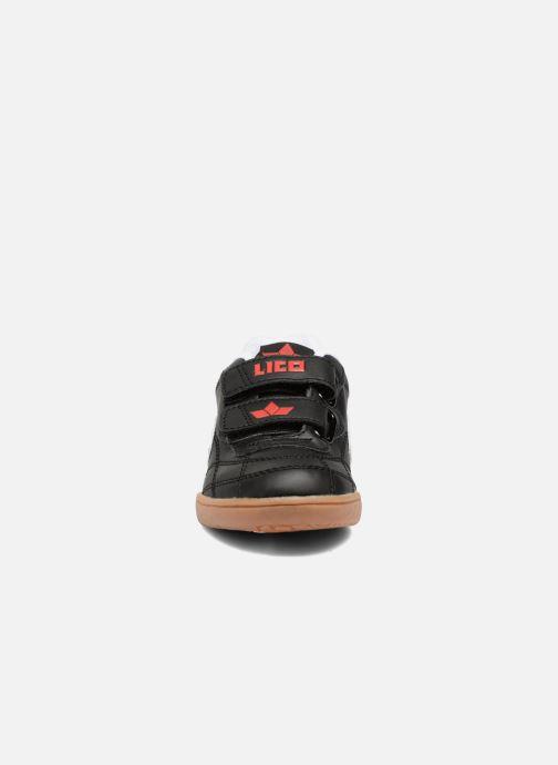 Baskets LICO Bernie V Noir vue portées chaussures