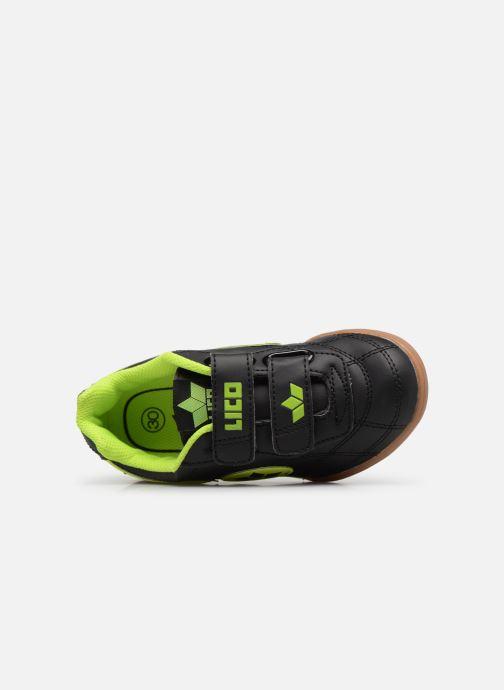 Sneakers LICO Bernie V Zwart links