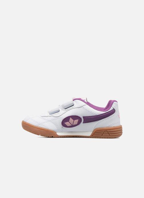 Sneaker LICO Bernie V lila ansicht von vorne