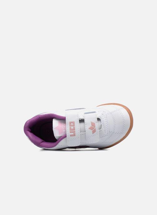 Sneaker LICO Bernie V lila ansicht von links
