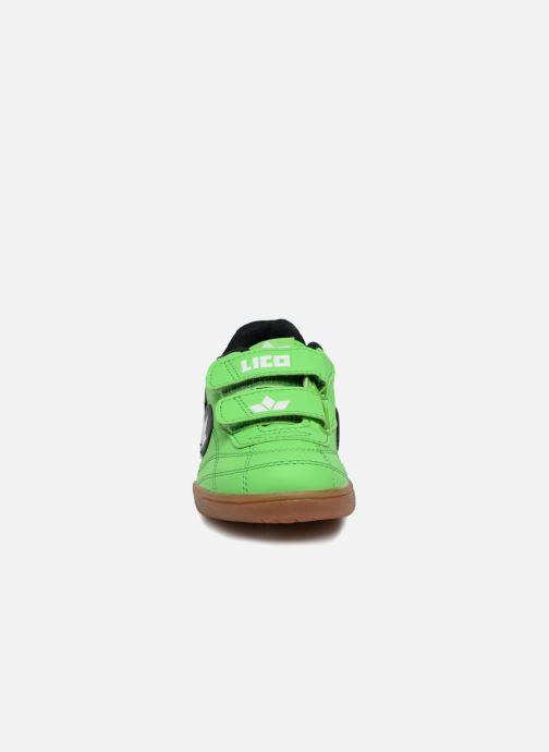 Baskets Lico Bernie V Vert vue portées chaussures