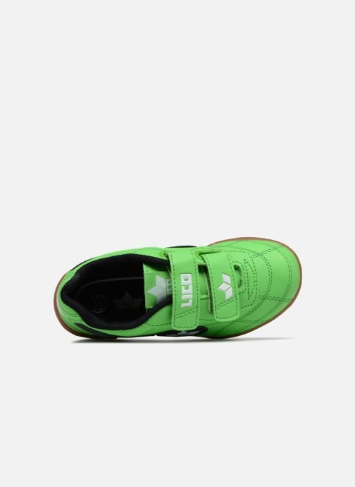 Sneakers LICO Bernie V Grøn se fra venstre