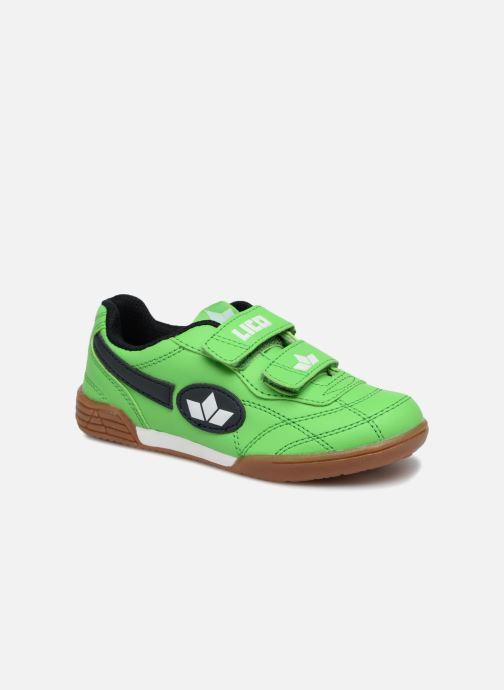 Sneakers LICO Bernie V Grøn detaljeret billede af skoene