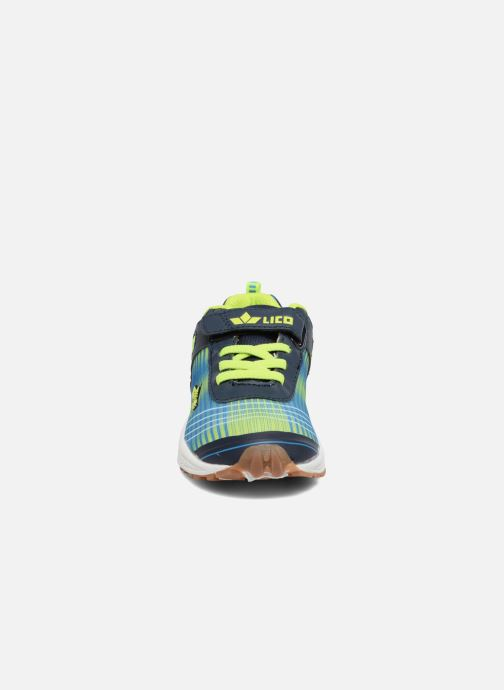Baskets LICO Barney Vs Bleu vue portées chaussures