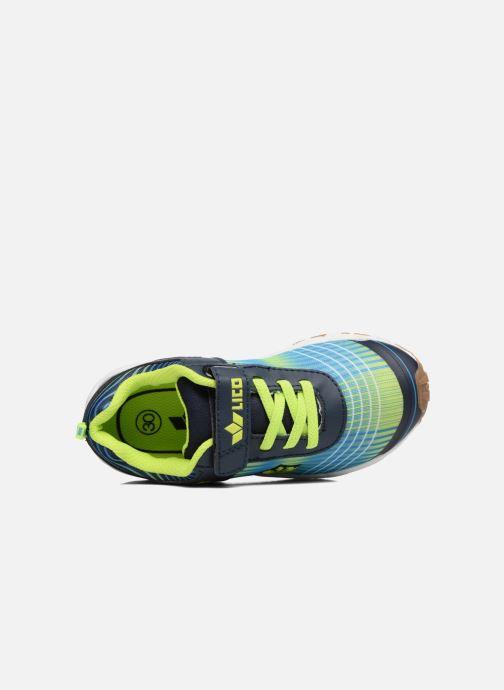 Sneaker LICO Barney Vs blau ansicht von links
