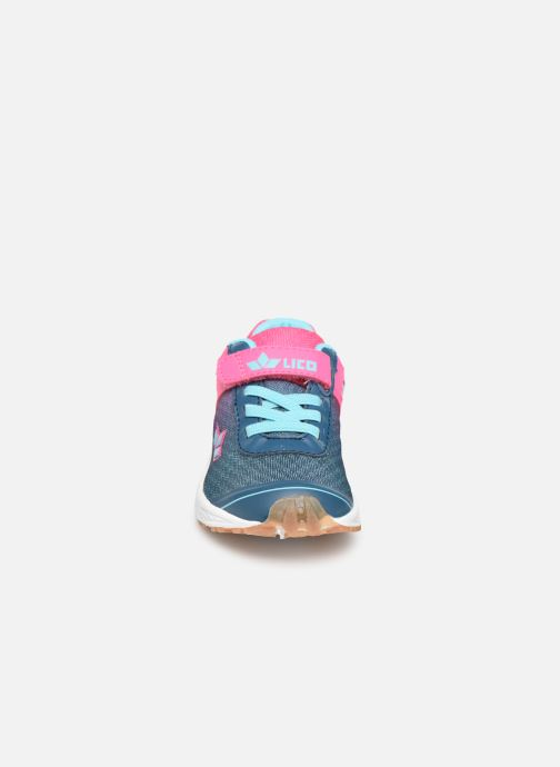 Baskets LICO Barney Vs Rose vue portées chaussures