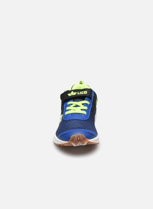 Sneakers Lico Barney Vs Azzurro modello indossato
