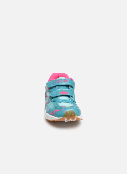 Baskets LICO Bob V Bleu vue portées chaussures
