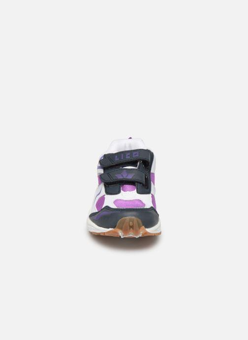 Baskets Lico Bob V Blanc vue portées chaussures