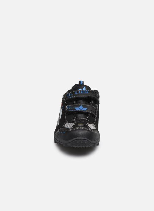 Baskets LICO Chief V Bleu vue portées chaussures