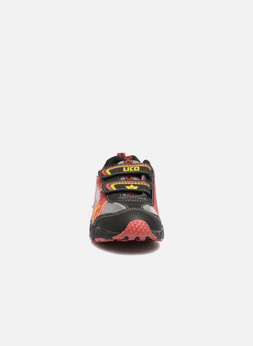 Sneaker LICO Hot V Blinky schwarz schuhe getragen